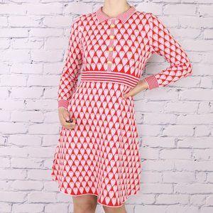 NWT Lili Sidonio long sleeve sweater dress c1